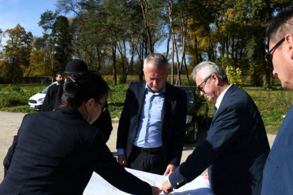 Podpisano umowę w sprawie rewitalizacji Parku Strzeleckiego w Nowym Sączu
