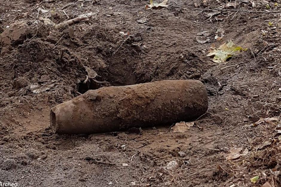 W Dąbrowie Górniczej złomiarz przyniósł do punktu skupu złomu pocisk artyleryjski