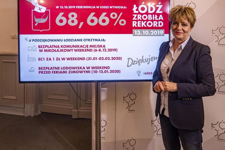 Władze Łodzi też wdzięczne za rekordową frekwencję. Atrakcje w aż 3 weekendy