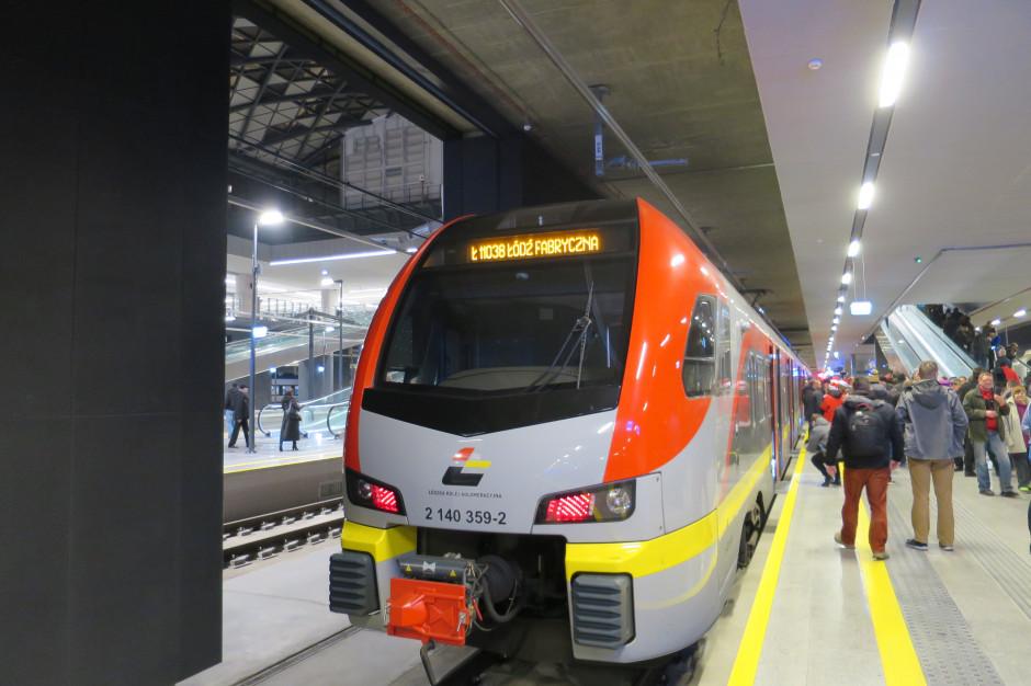 Łódź: od niedzieli pociągi pojadą inaczej. To przez prace na przystanku Marysin