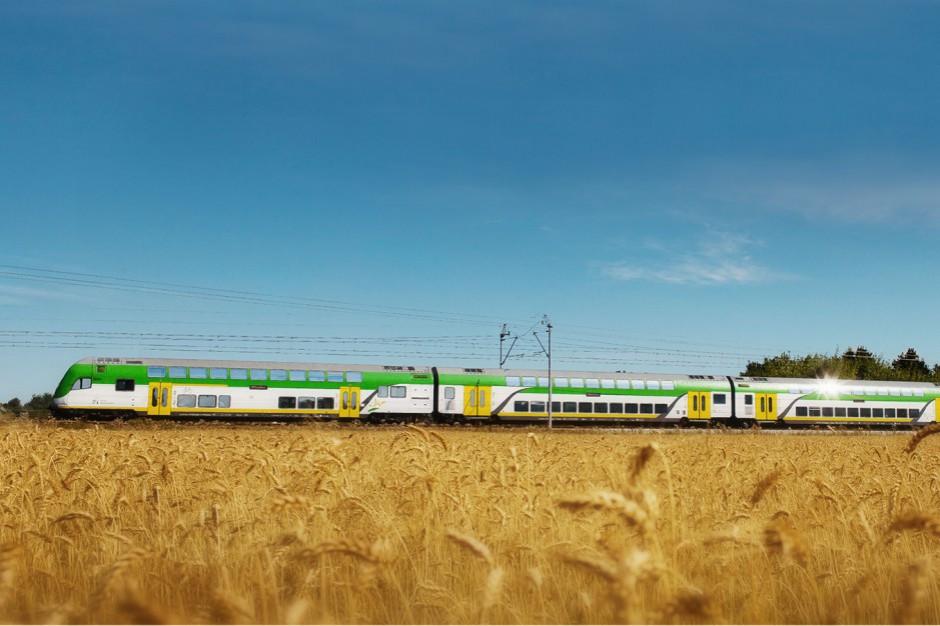 """Rekordowa frekwencja w pociągu """"Słoneczny"""". To prezent na 15 urodziny Kolei Mazowieckich"""