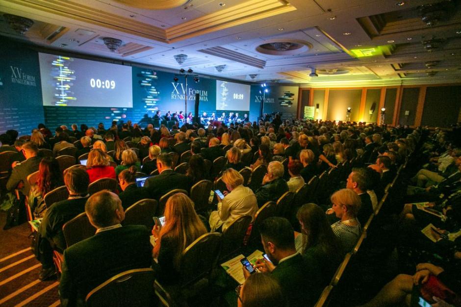 XV Forum Rynku Zdrowia: Musimy mieć politykę ochrony zdrowia, a nie uprawiać politykę