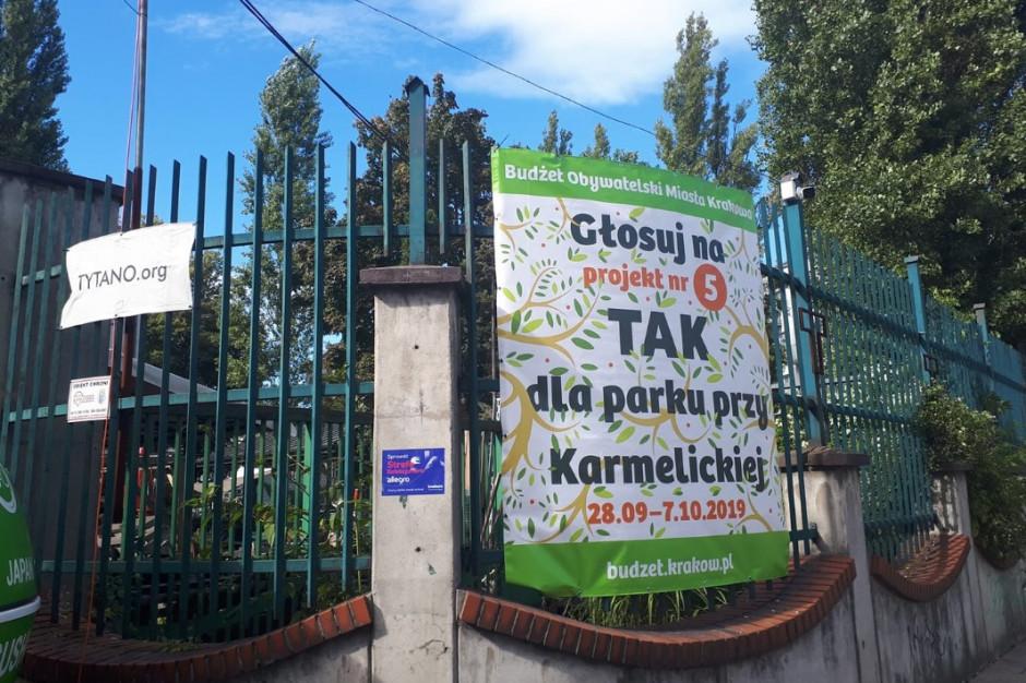 Mieszkańcy chcą nowego parku w centrum Krakowa