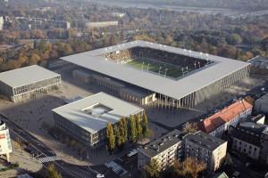Miasto zawiesza prace nad budową kompleksu sportowego Polonii Warszawa