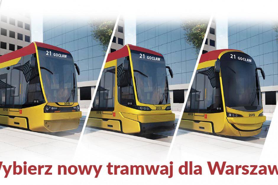 Jak będą wyglądać nowe warszawskie tramwaje? Oto propozycje