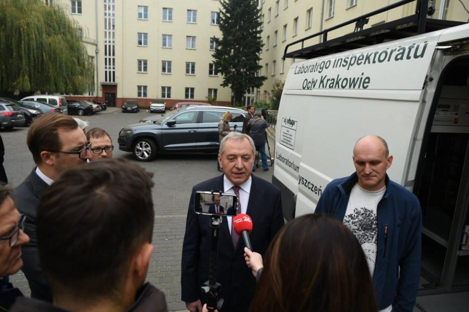Minister Kowalczyk chwali Inspekcję Ochrony Środowiska po akcji w Alytus