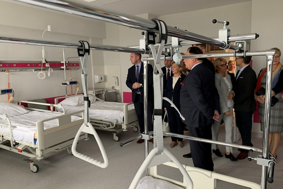 Szpital w Ciechanowie ma zmodernizowany Oddział Chirurgii Urazowo-Ortopedycznej