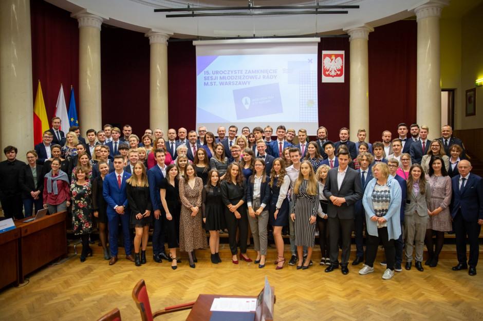 Młodzieżowa Rada Warszawy świętowała 10-lecie
