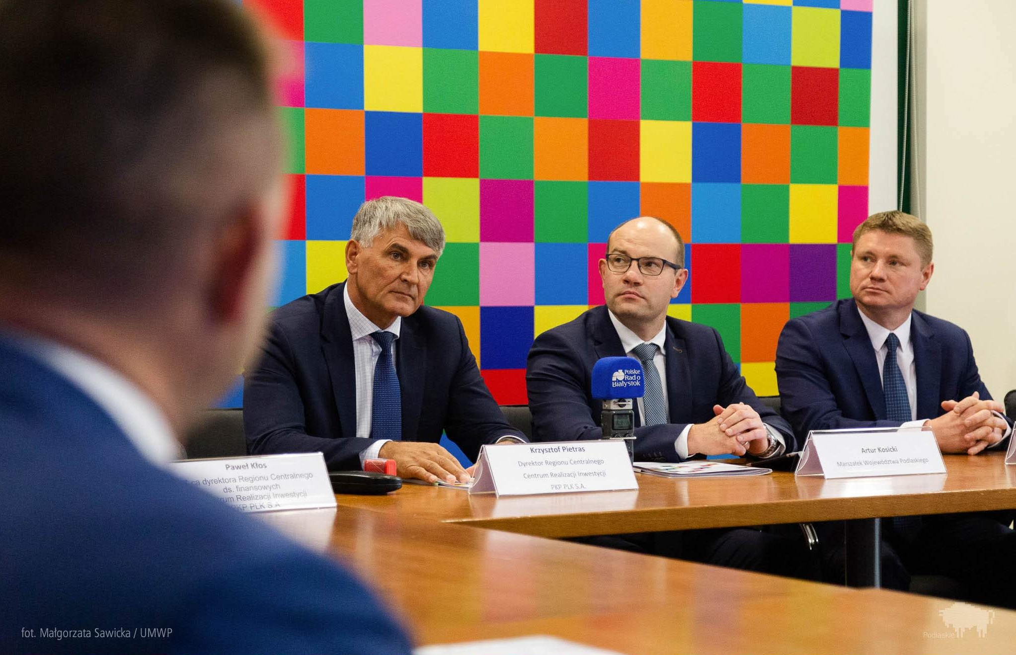 Podpisana umowa zwiększa dofinansowanie inwestycji o 90 mln zł (fot. Małgorzata Sawicka/UMWP)