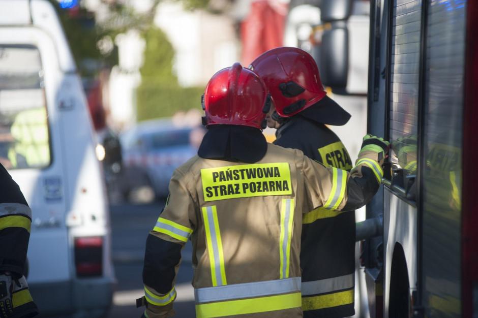 Pożary składowisk odpadów w Małopolsce