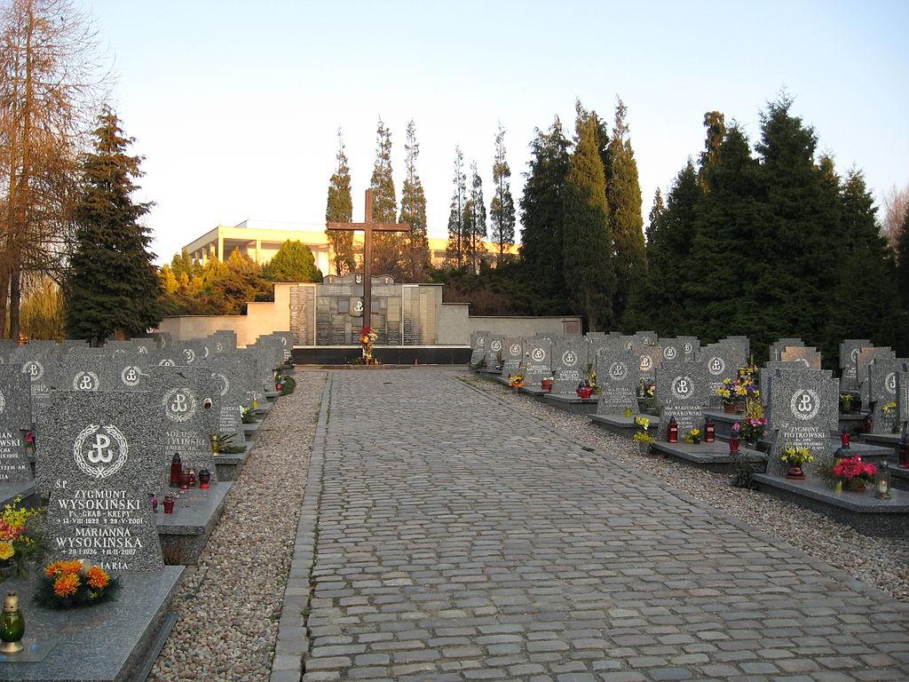Cmentarz Łostowiski w Gdańsku (fot. wikipedia.org/Tomasz Sienicki - praca własna)