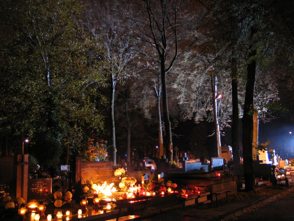 Stary Cmentarz w Łodzi (fot. wikipedia.org/HuBar - praca własna)