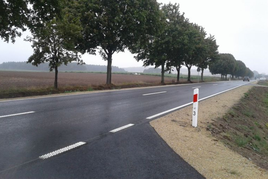 Droga wojewódzka w powiecie wolsztyńskim gotowa do użytku
