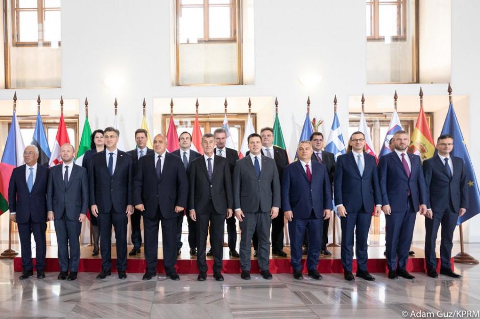 Morawiecki: głos grupy Przyjaciół Polityki Spójności jasno wybrzmi podczas szczytu UE