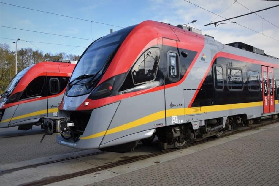 Komplet 14 pociągów Impuls 2 już w Łodzi. Nikt inny jeszcze ich nie ma