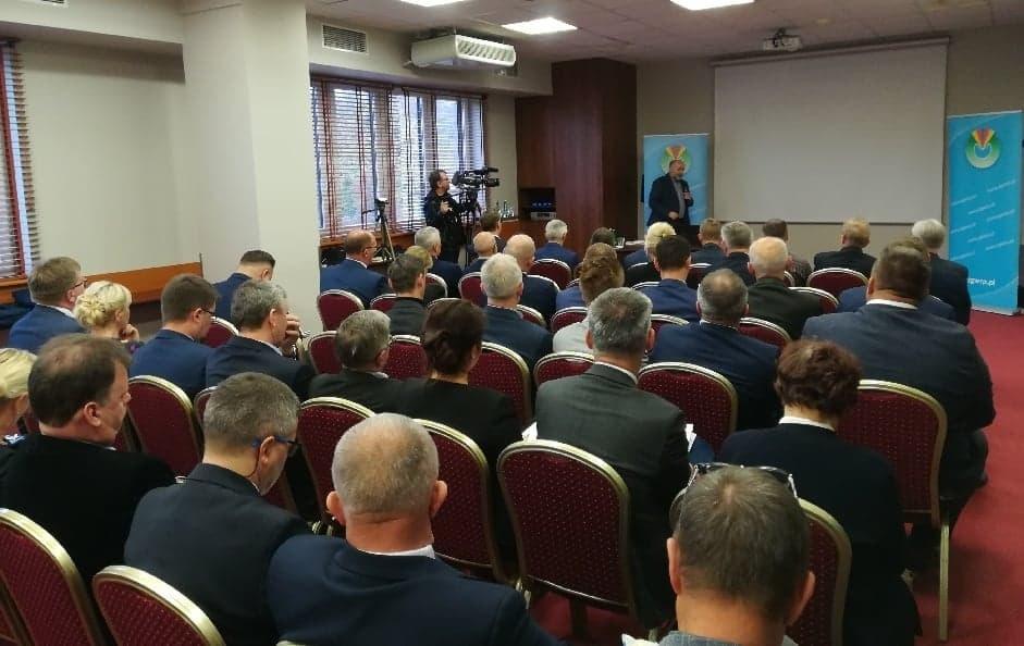 O racjonalizacji procesów zmiany granic gmin dyskutowano podczas konferencji ZGW w Toruniu (fot. ZGW RP)