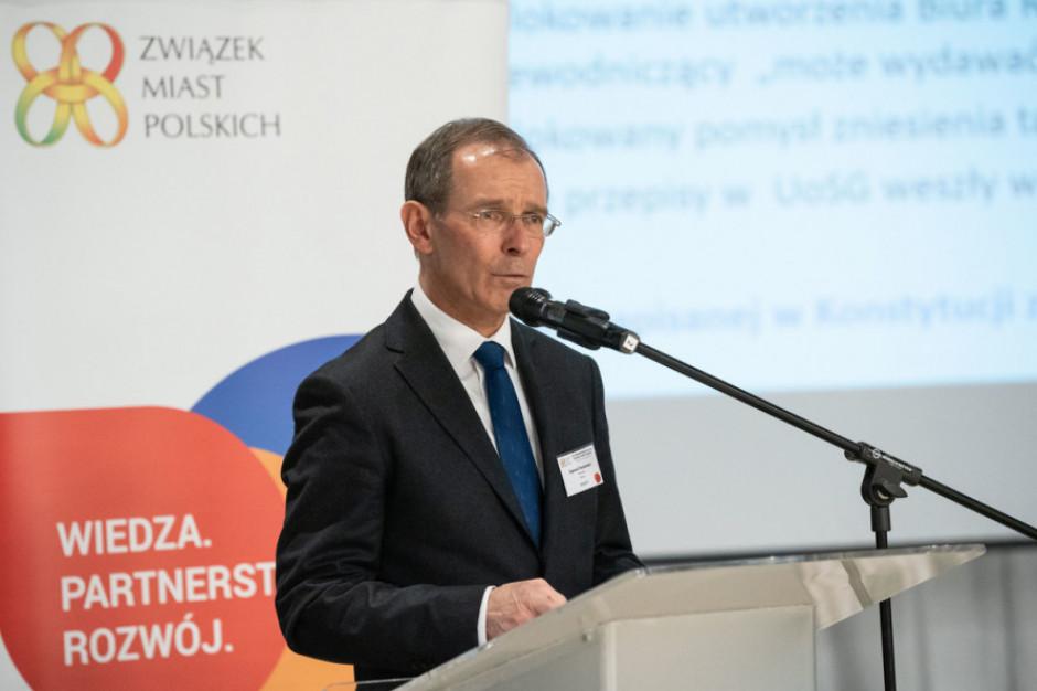 Zygmunt Frankiewicz napisał list do 600 miast w Polsce