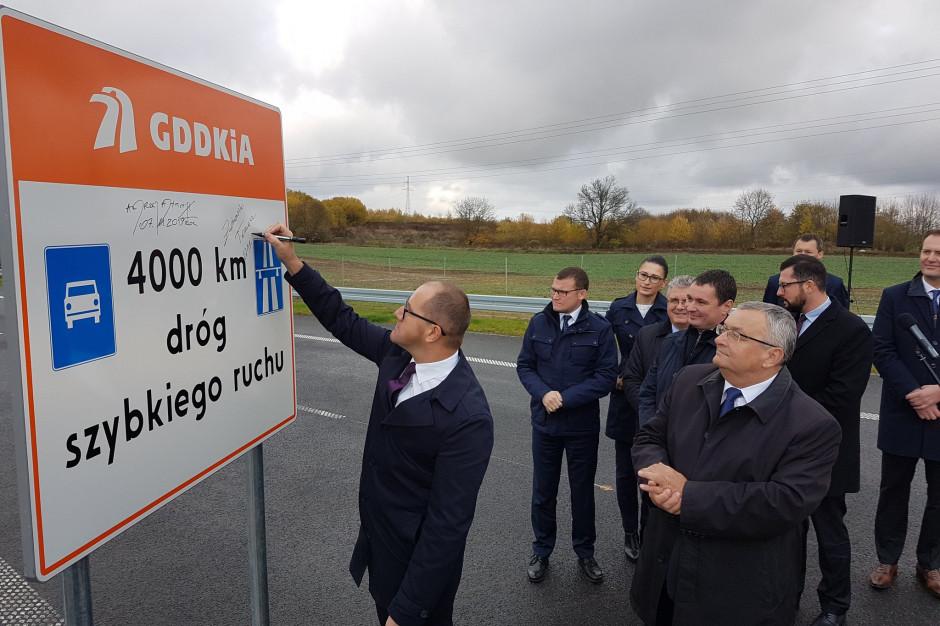 Obwodnica Szczecinka oddana. Mamy 4 tys. km dróg ekspresowych i autostrad