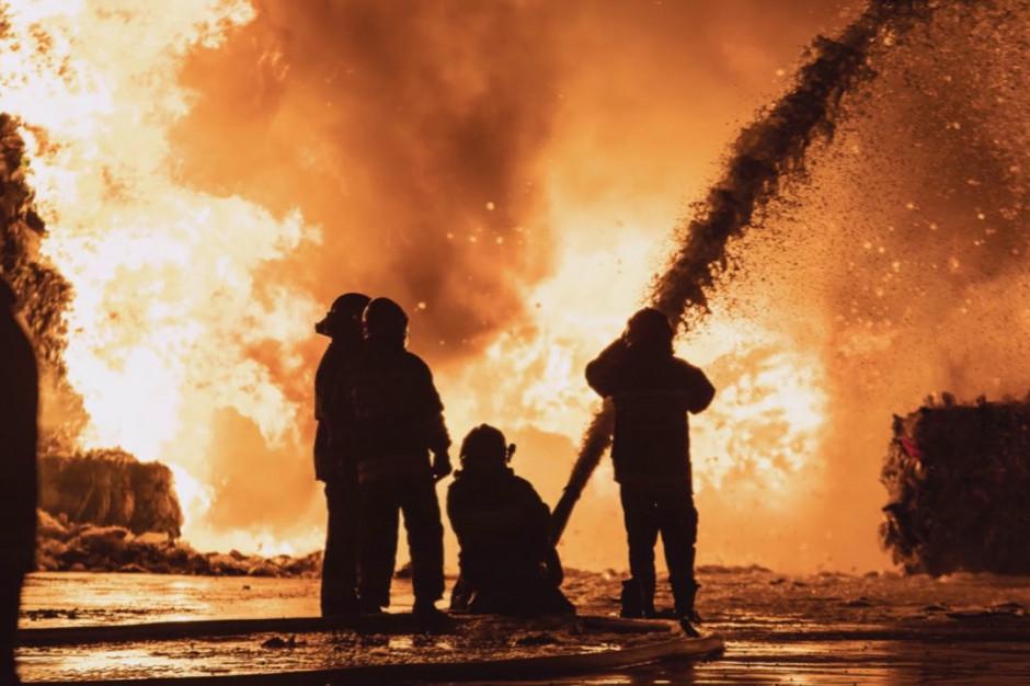 Płonące odpady na Litwie trują, w Polsce już nie. Jak to możliwe?