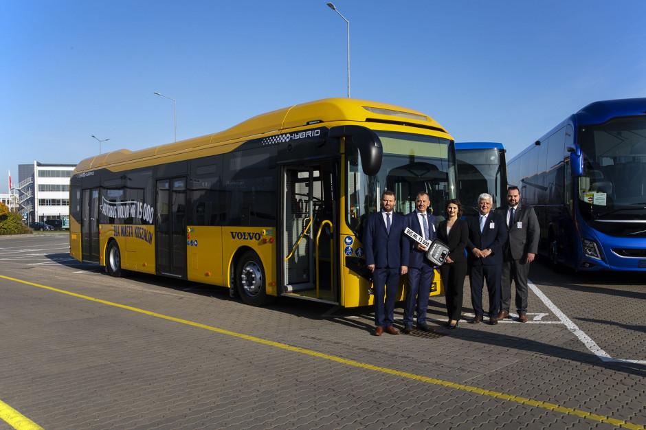 Koszalin ma pięć nowych autobusów volvo. To kolejne miasto, które postawiło na hybrydy