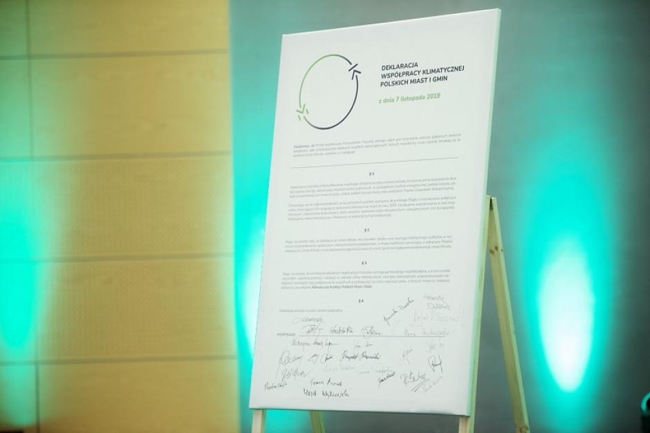 Gdańsk: samorządowcy zadeklarowali intensyfikację działań na rzecz ochrony klimatu