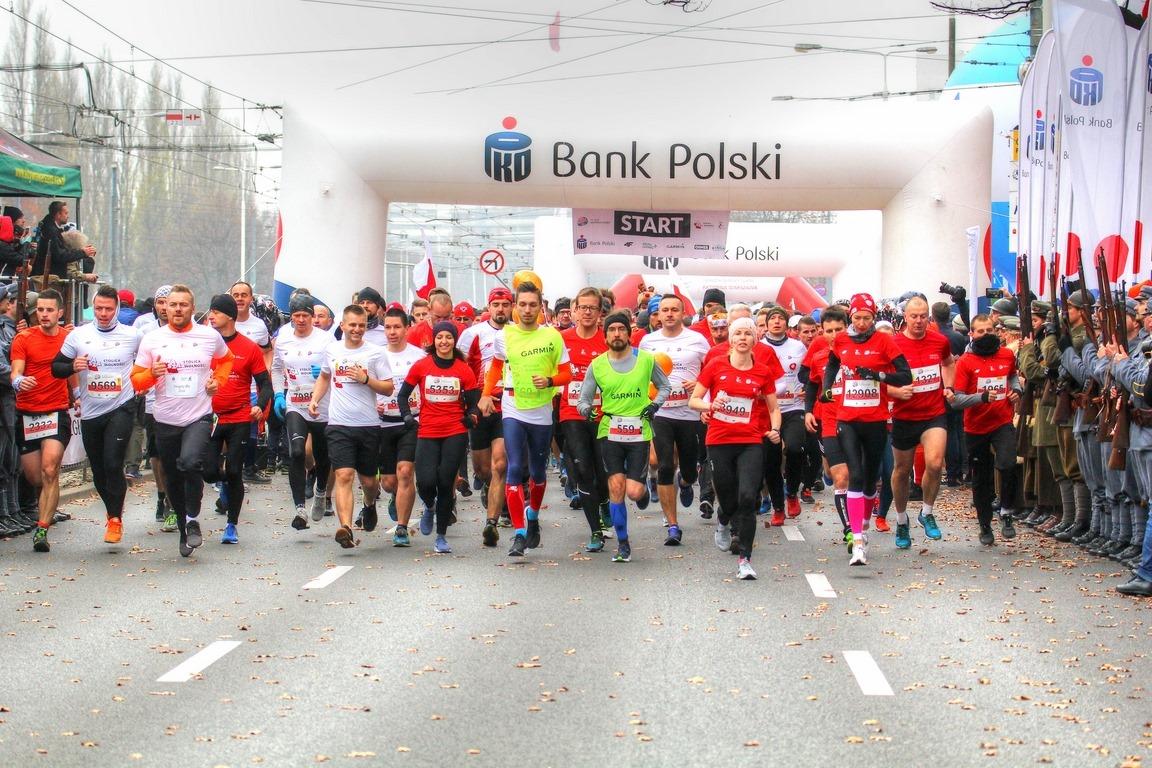 Bieg Niepodległości wystartuje punktualnie o godz. 11.11 (fot. FB/Aktywna Warszawa)