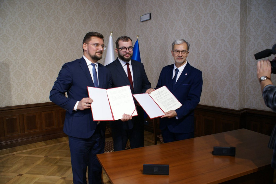 Minister Kwieciński i prezydent Krupa podpisali porozumienie w sprawie forum miejskiego ONZ