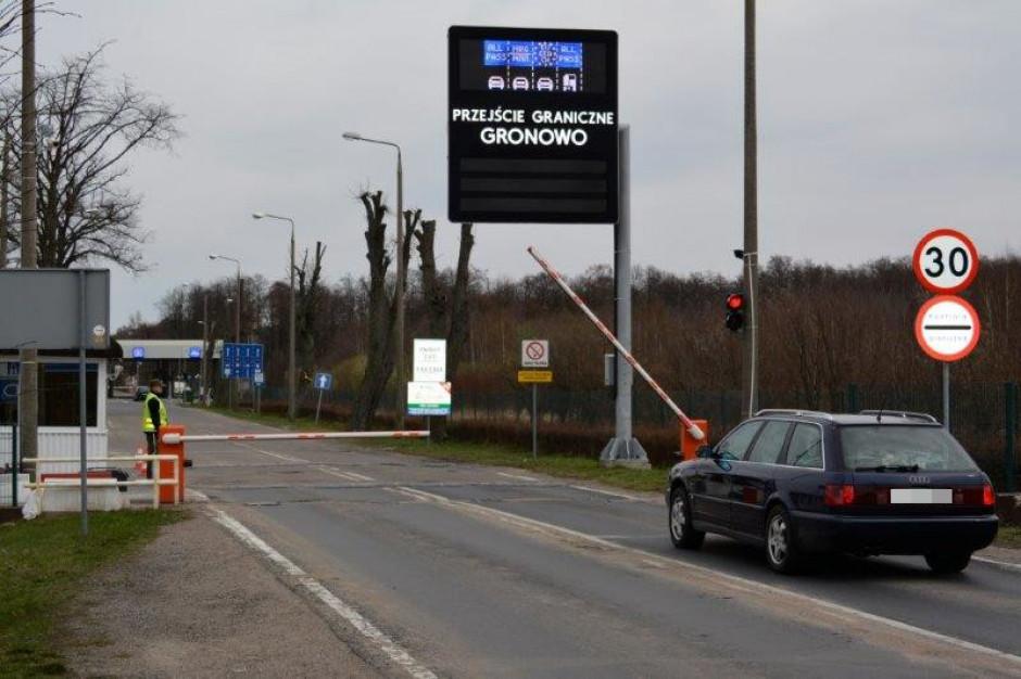 Gronowo: Koniec utrudnień na polsko-rosyjskim przejściu granicznym