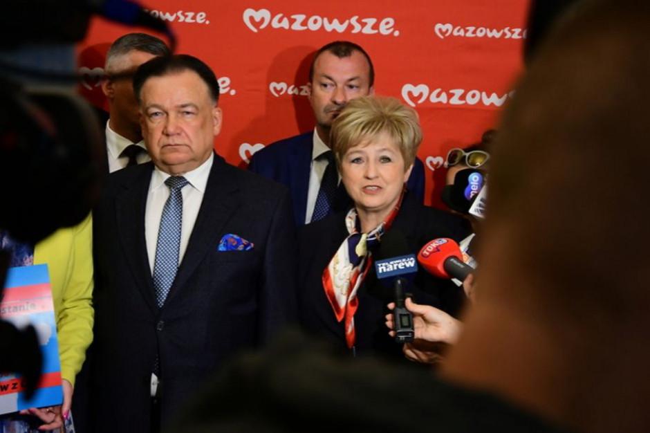 Marszałek liczy, że parlamentarzyści obronią integralność Mazowsza
