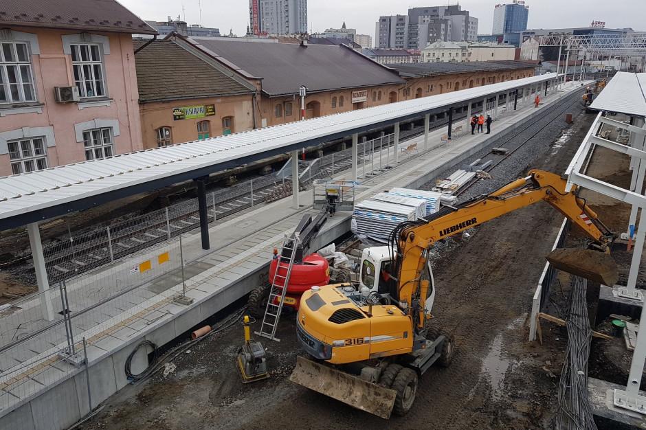 Rzeszów: W przyszłym tygodniu pociągi do Jasła odjadą z nowego peronu