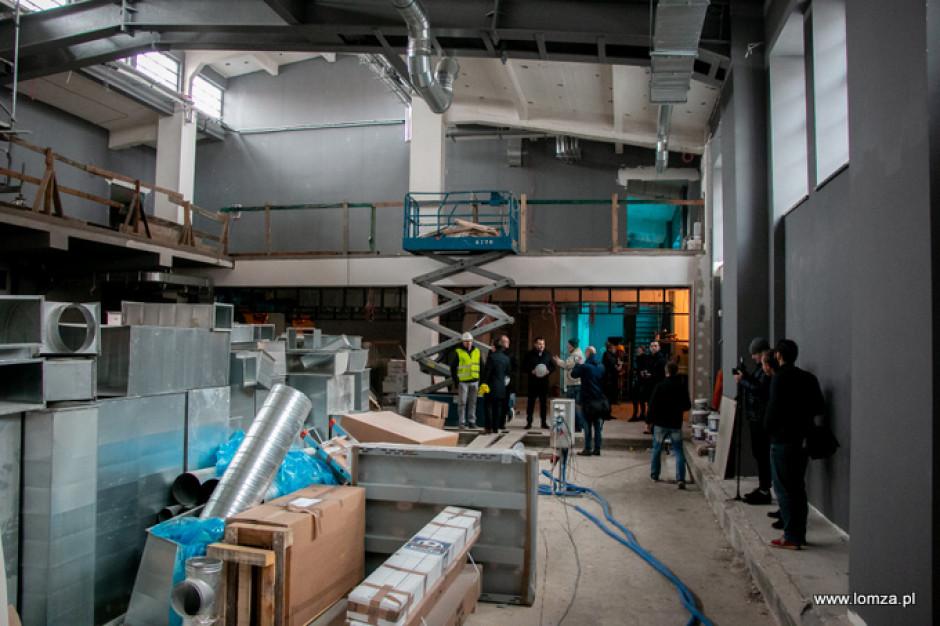 Łomża: Hala Kultury zacznie działać w kwietniu 2020 r.