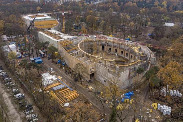 Budowa Orientarium (fot. lodz.pl)