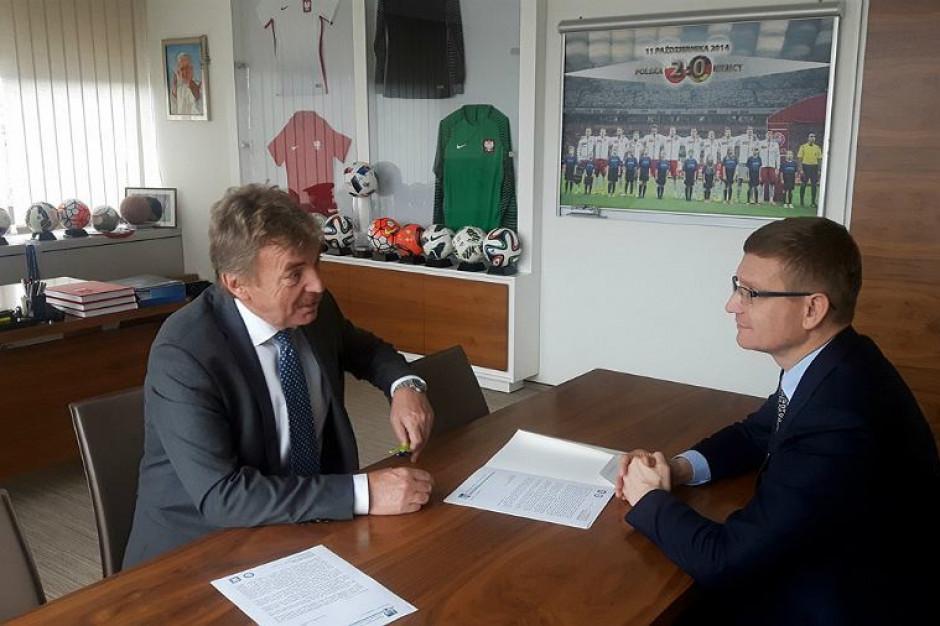 Boniek napisał do prezydenta, teraz prezydent do Bońka