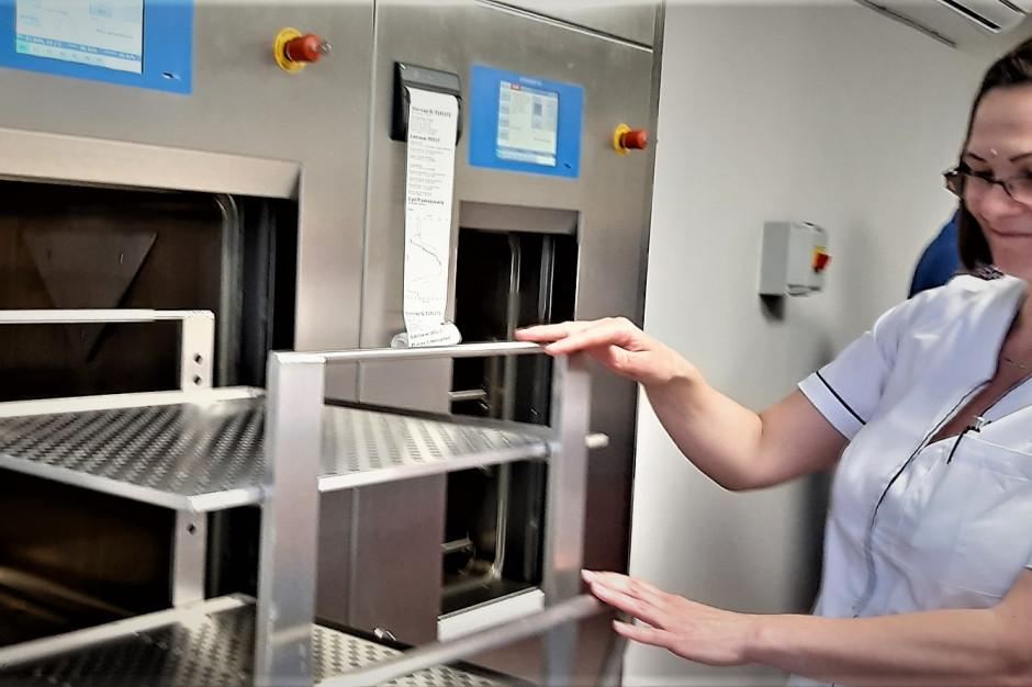 W Piekarach Śląskich otworzono nowoczesną sterylizatornię