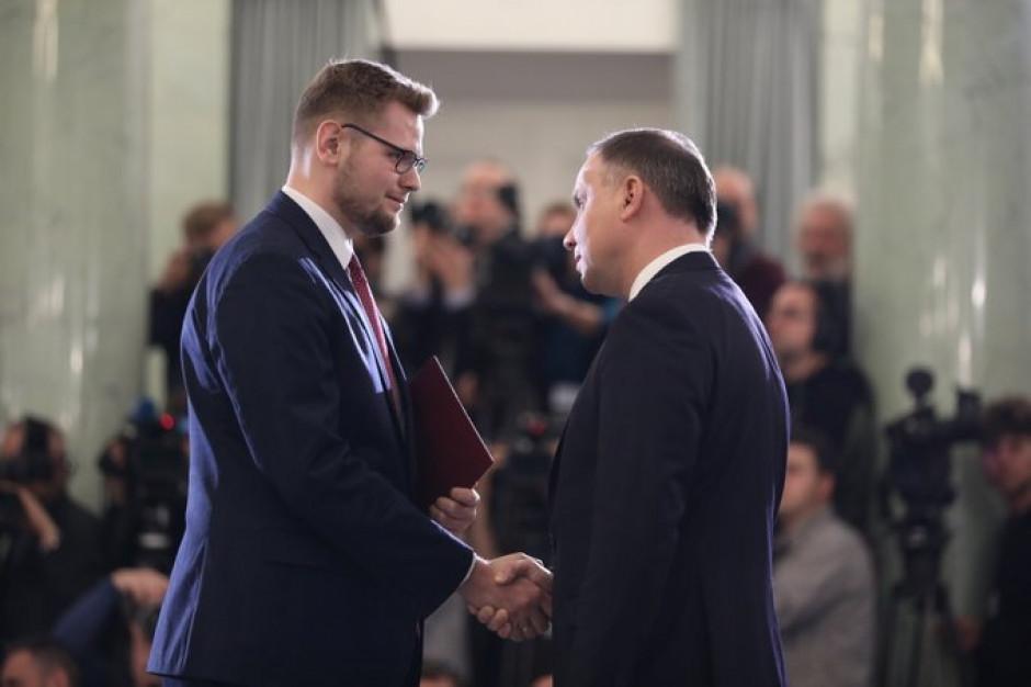 Michał Woś zajmie się podziałem spraw między MŚ a resortem klimatu