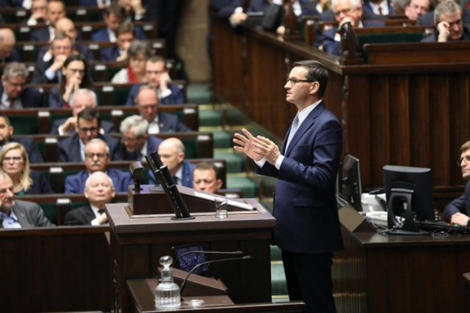 Mateusz Morawiecki do posłów: Gdzie wtedy były wasze samorządy? Wasze okrzyki?