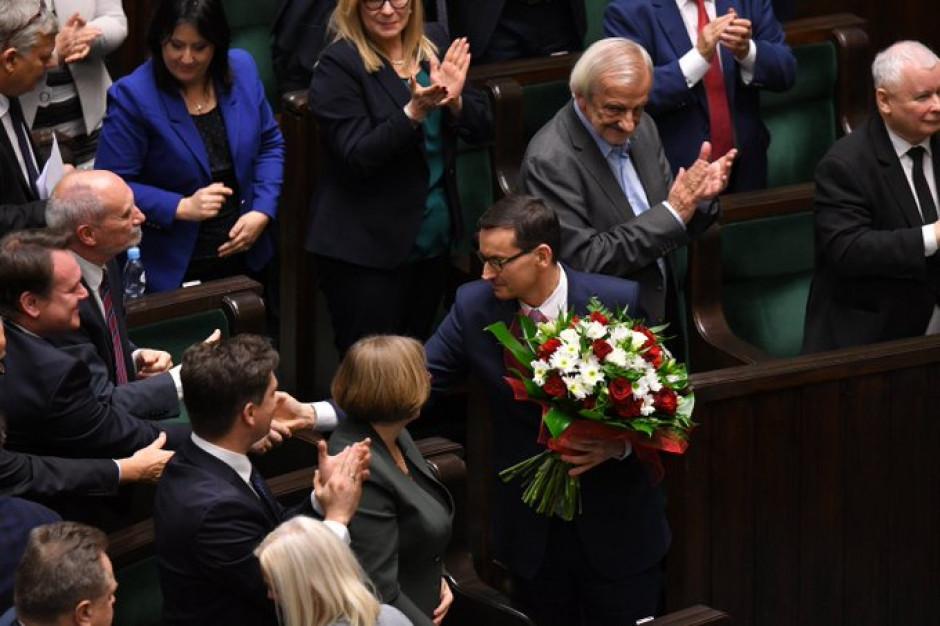 Sejm udzielił wotum zaufania rządowi Mateusza Morawieckiego