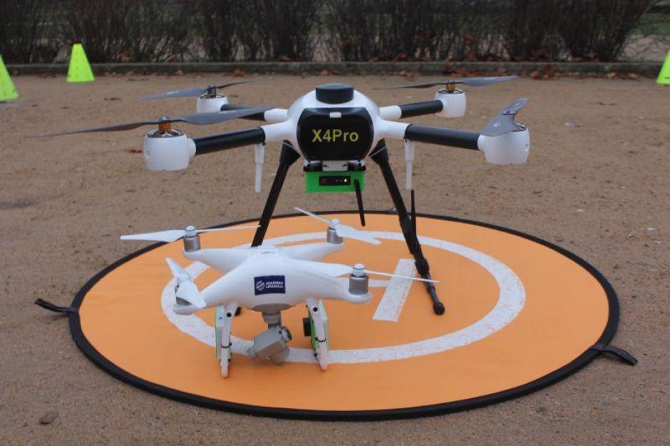 Antysmogowy dron znów nad Szczecinem