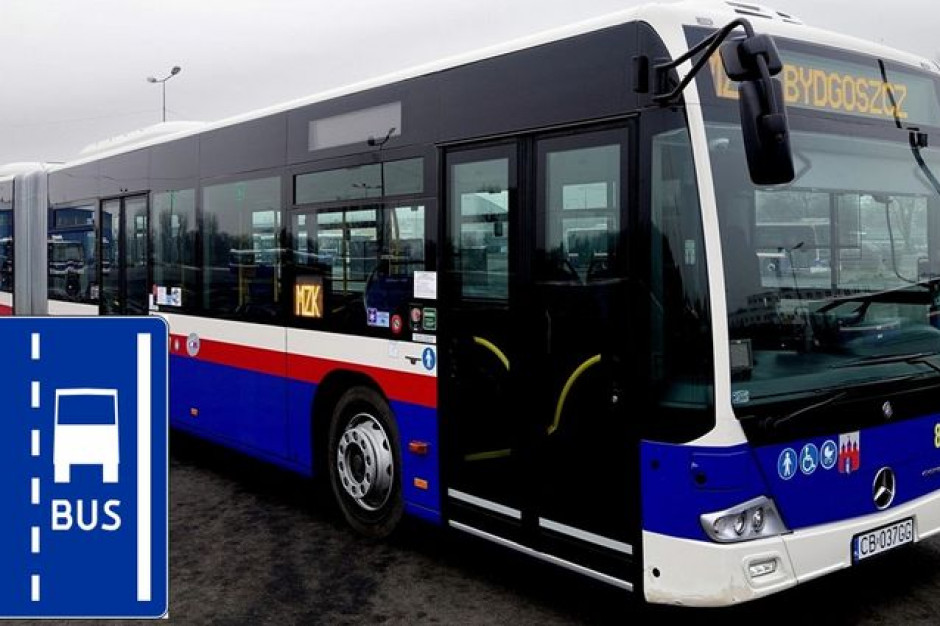 Bydgoszcz buduje buspasy