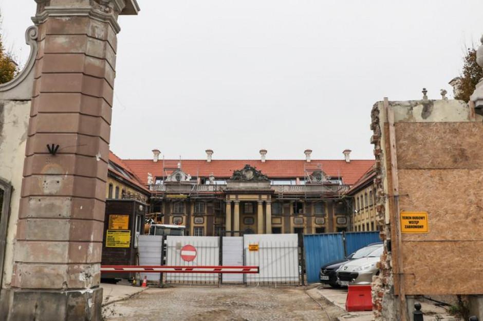 Resort kultury kwestionuje decyzje dotyczące prac budowlanych przy Pałacu Branickich