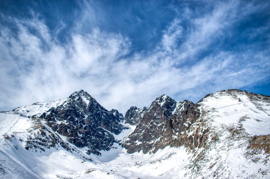 Pierwszy stopień zagrożenia lawinowego w Tatrach