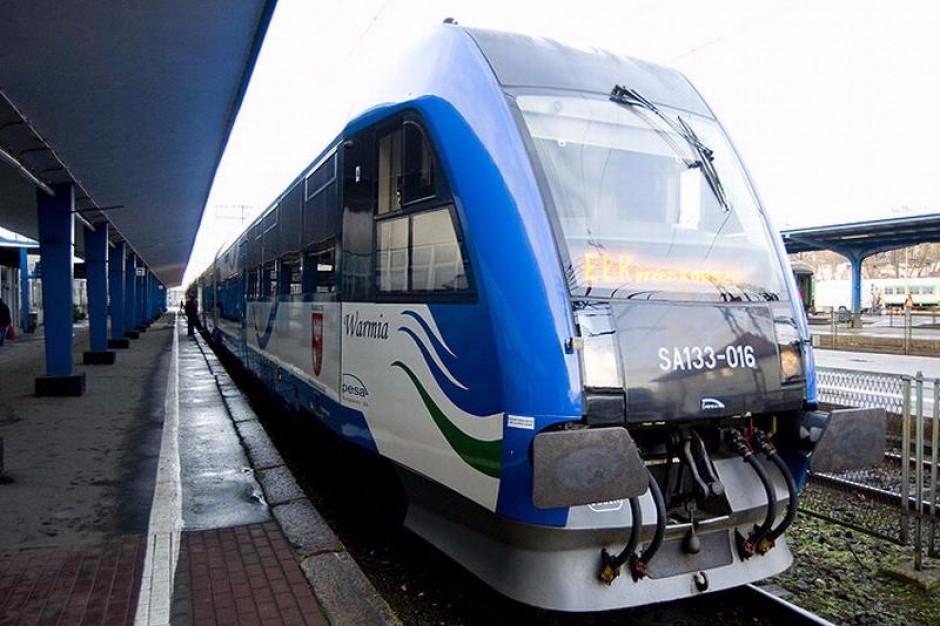 Warmińsko-Mazurskie: remont linii kolejowej za 275 mln zł