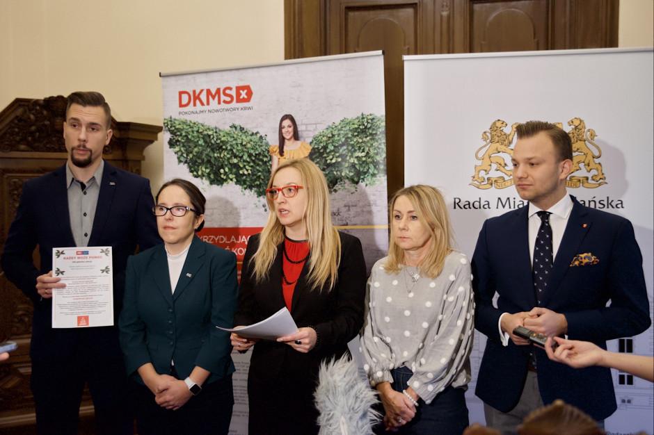 Radni Miasta Gdańska zachęcają do rejestrowania się w bazie dawców szpiku kostnego