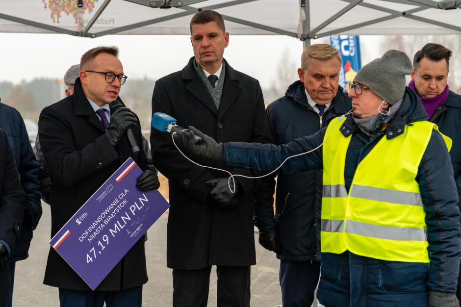 Białystok: większa dotacja na węzeł Porosły