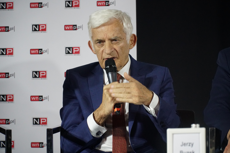 prof. Jerzy Buzek, poseł do Parlamentu Europejskiego (fot. Michał Oleksy/PTWP)