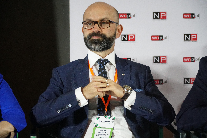 Janusz Michałek, prezes Katowickiej Specjalnej Strefy Ekonomicznej (fot. Michał Oleksy/PTWP)