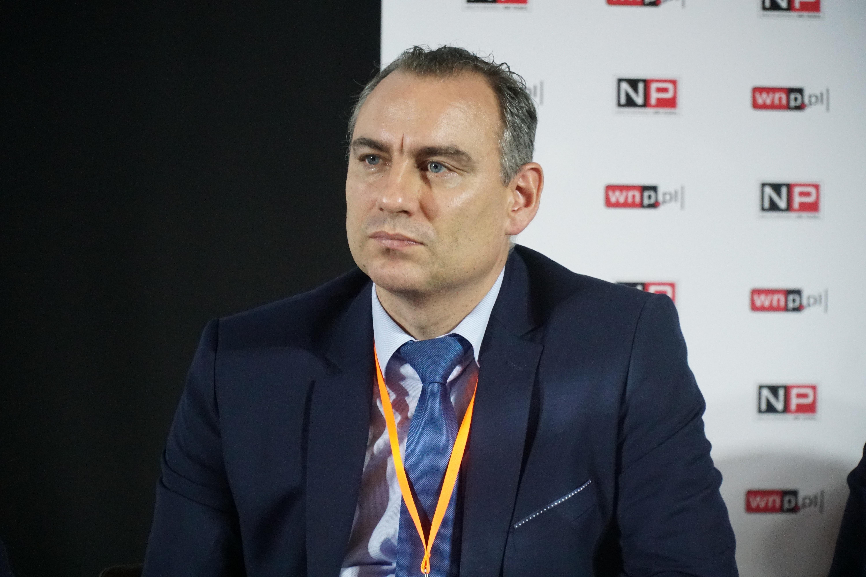 Radosław Wąsik, wiceprezes ds. zagospodarowania majątku, Spółka Restrukturyzacji Kopalń (fot. Michał Oleksy/PTWP)