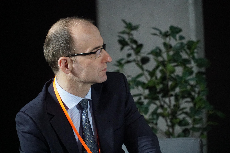 Michał Wroński, dziennikarz PortalSamorzadowy.pl (fot. Michał Oleksy/PTWP)