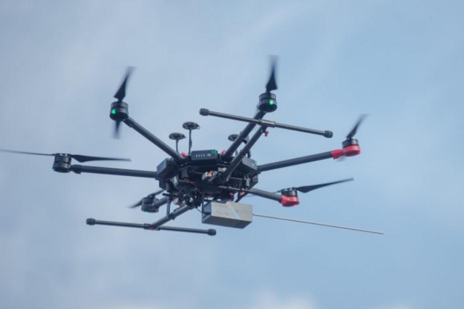 Śląska metropolia zakończyła kolejny test transportu dronem