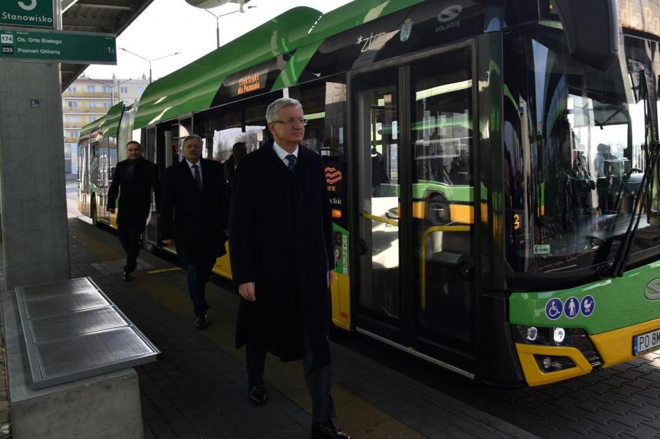 W Poznaniu pierwsze kursy elektrycznych autobusów